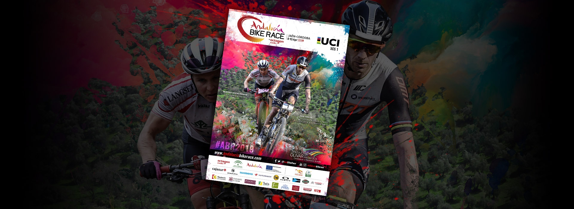 Official poster of Andalucía Bike Race 2019!
