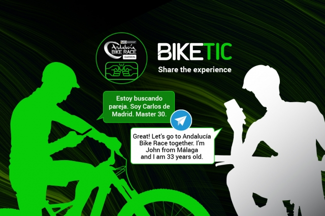 Are you looking for a partner to take part in Andalucía Bike Race by Garmin? Join BIKETIC
