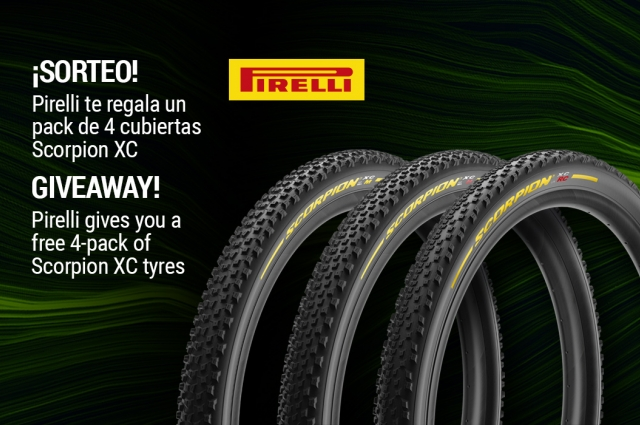 Pirelli gives you a free 4-pack of Scorpion XC tyres
