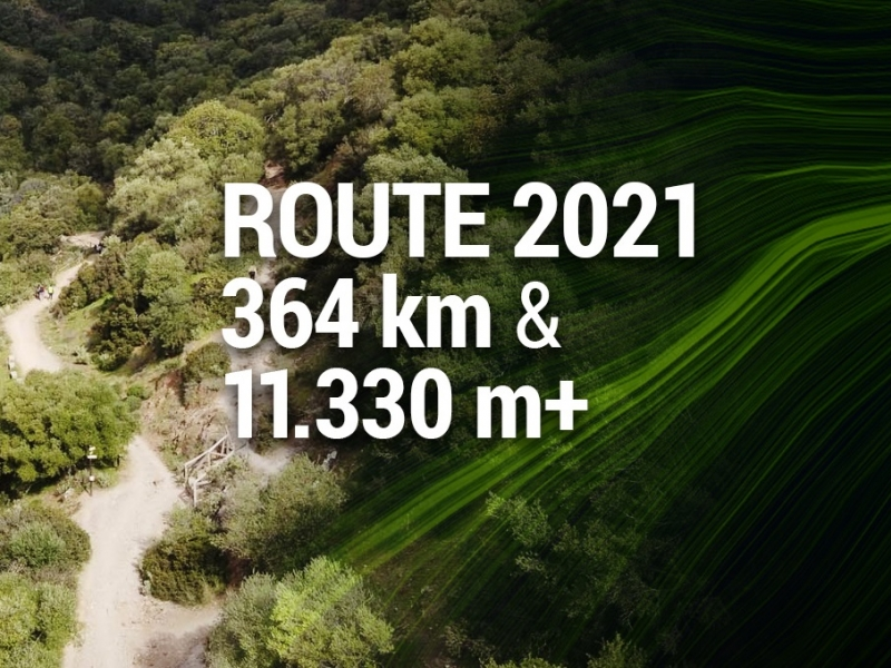 Official route of 2021 Andalucía Bike Race by Garmin